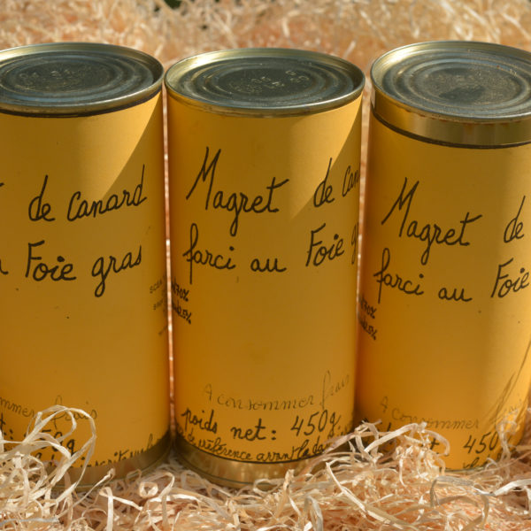 Magret farci au foie gras